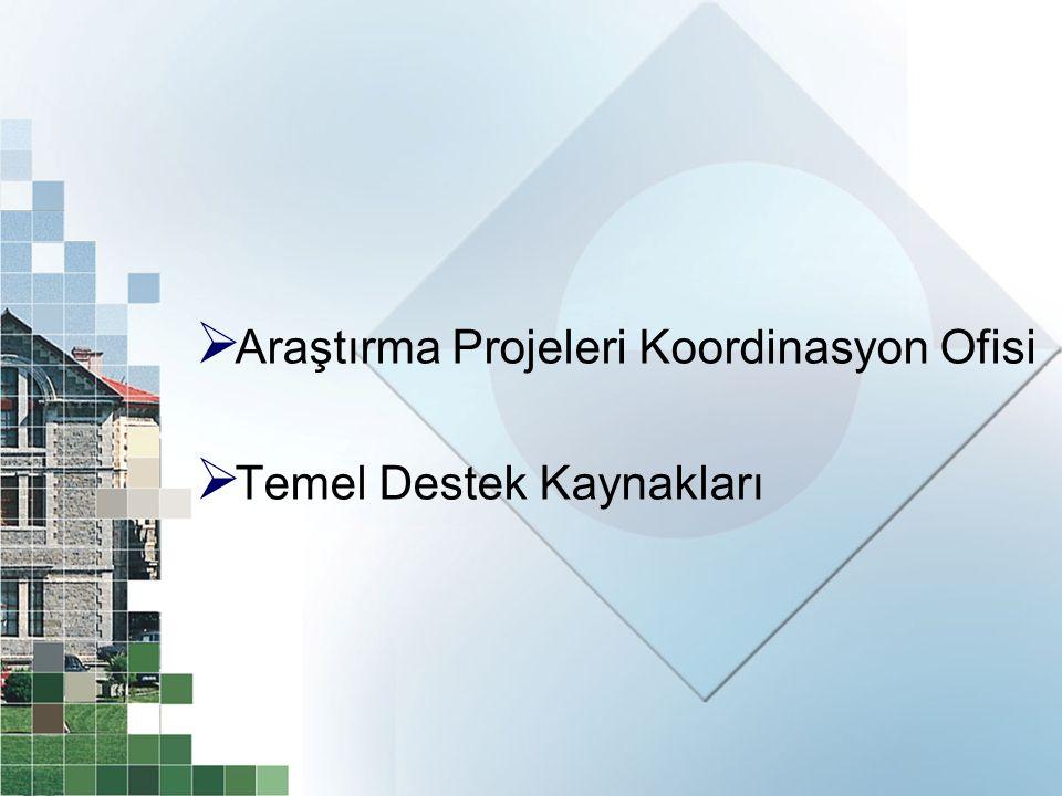 Araştırma Projeleri Koordinasyon Ofisi