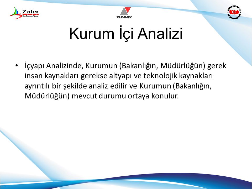 Kurum İçi Analizi