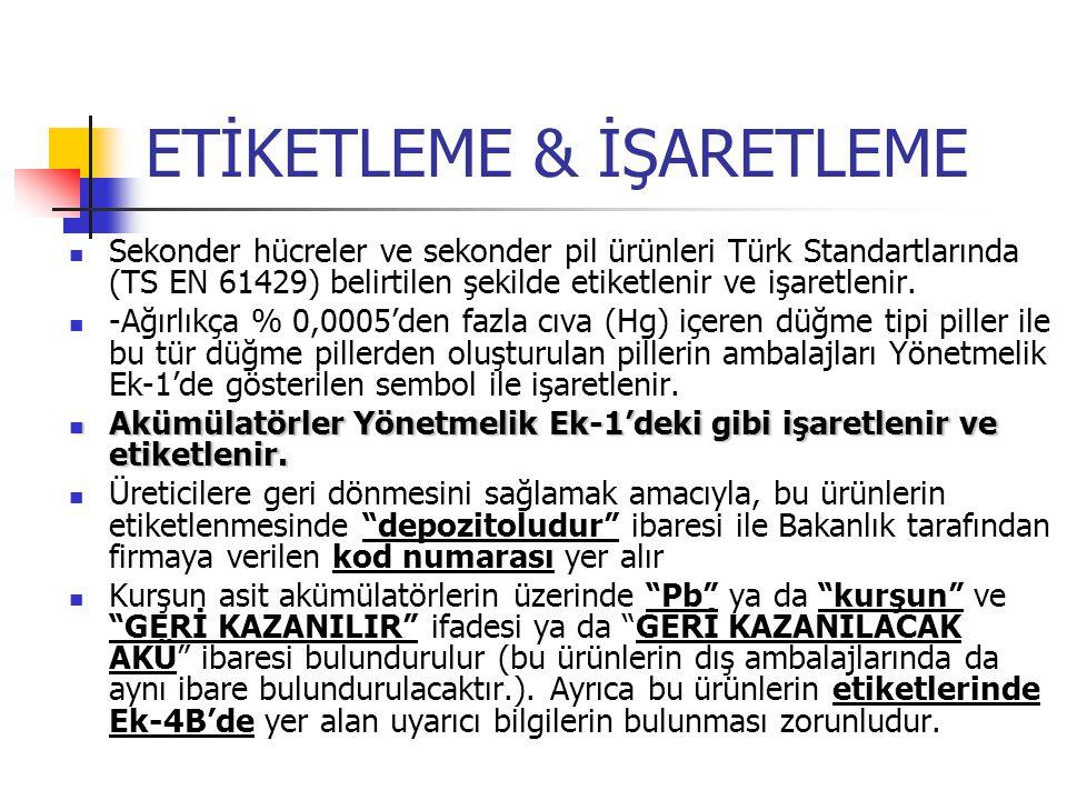 ETİKETLEME & İŞARETLEME