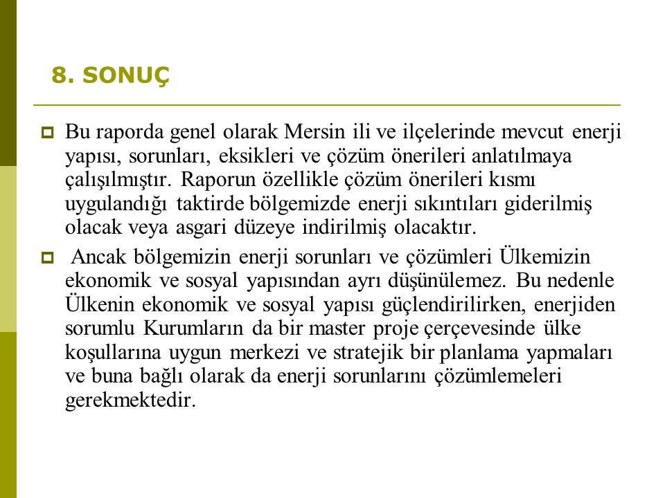 8. SONUÇ