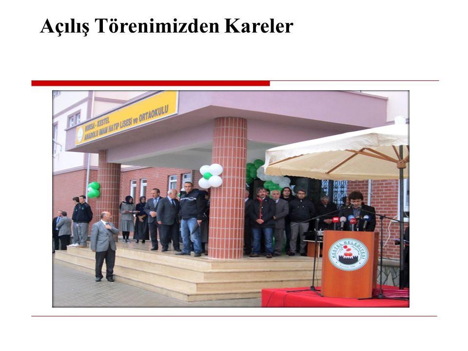 Açılış Törenimizden Kareler