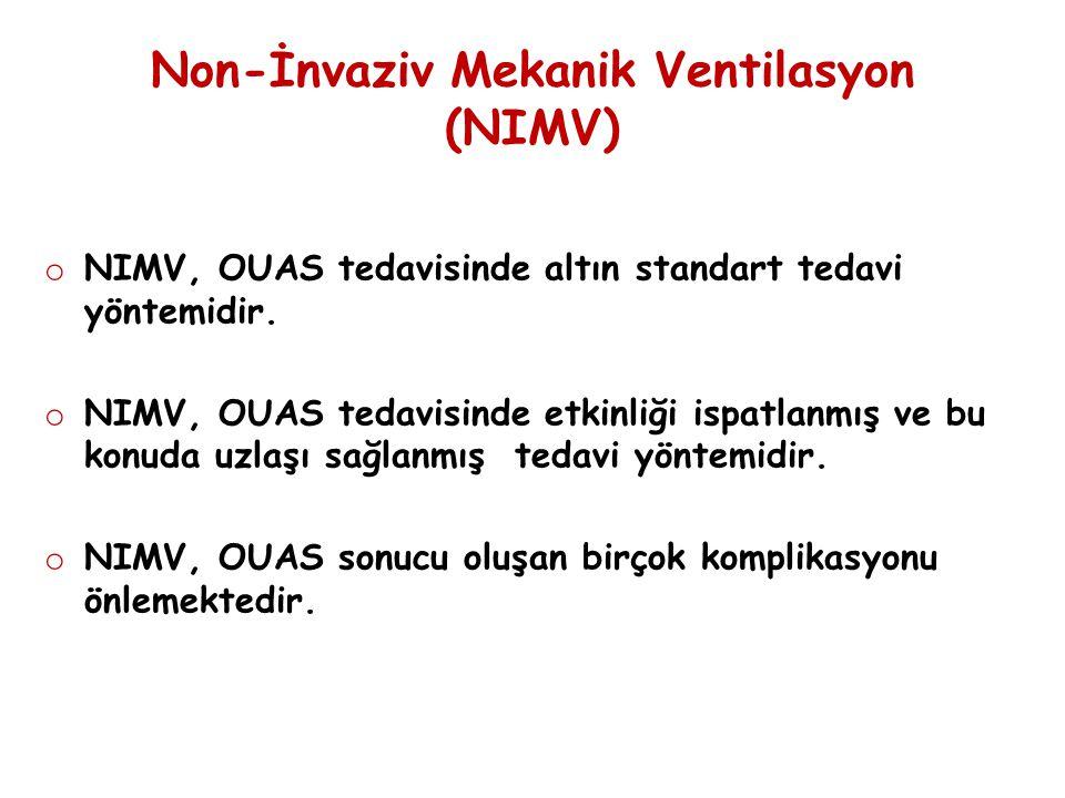 Non-İnvaziv Mekanik Ventilasyon (NIMV)