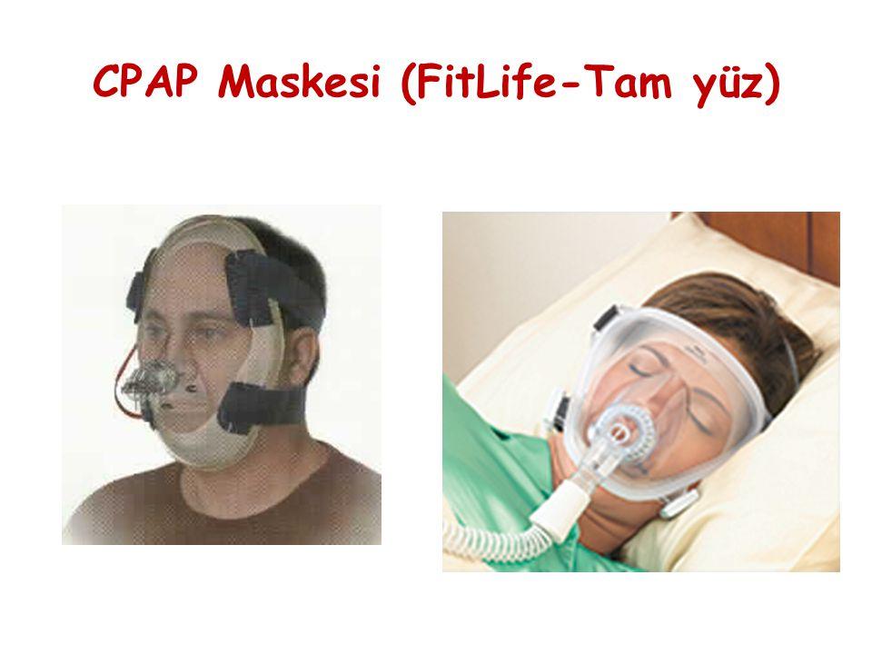 CPAP Maskesi (FitLife-Tam yüz)