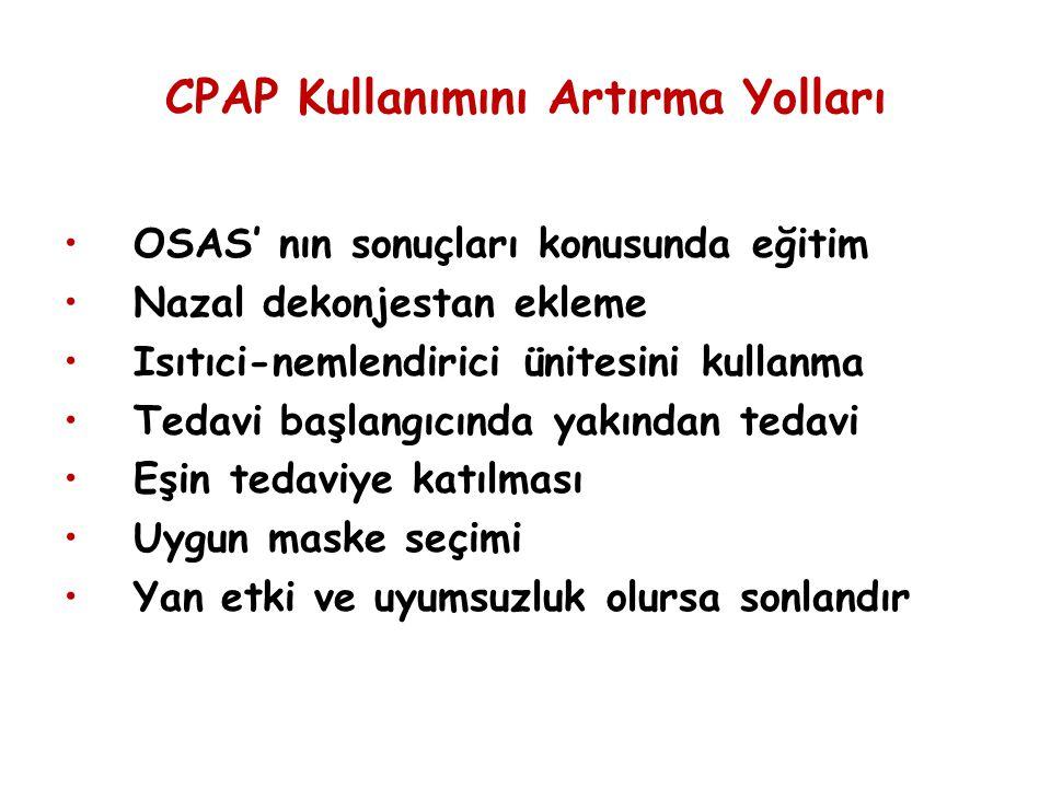 CPAP Kullanımını Artırma Yolları