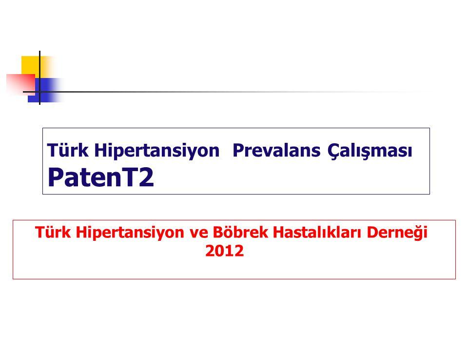 Türk Hipertansiyon Prevalans Çalışması PatenT2