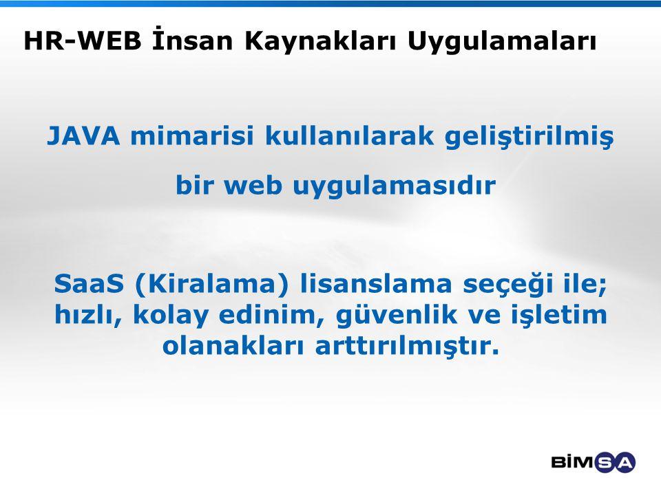 HR-WEB İnsan Kaynakları Uygulamaları