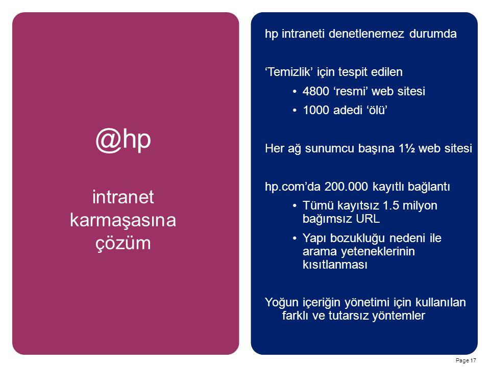 intranet karmaşasına çözüm