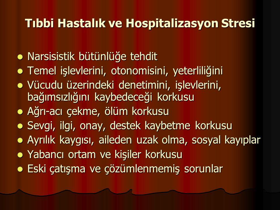 Tıbbi Hastalık ve Hospitalizasyon Stresi