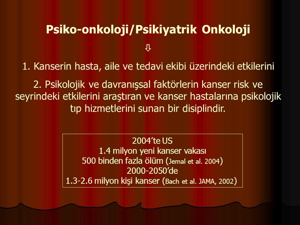 Psiko-onkoloji/Psikiyatrik Onkoloji