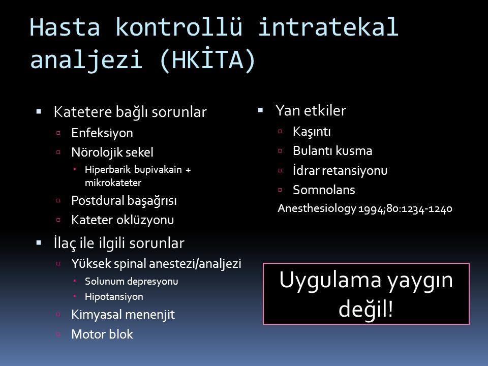 Hasta kontrollü intratekal analjezi (HKİTA)
