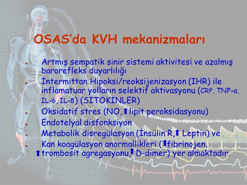 OSAS'da KVH mekanizmaları