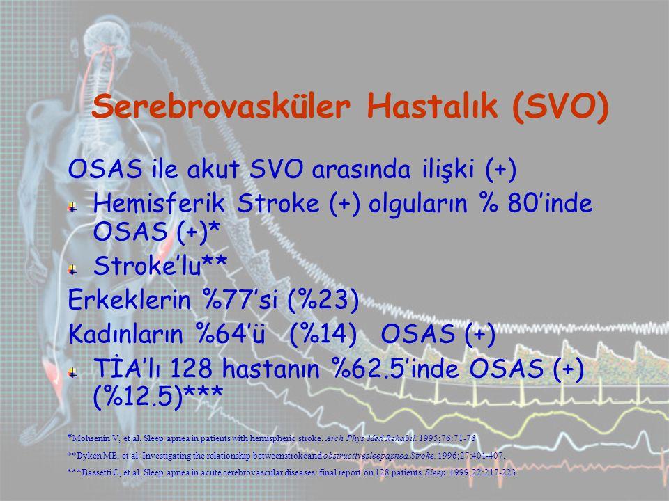 Serebrovasküler Hastalık (SVO)