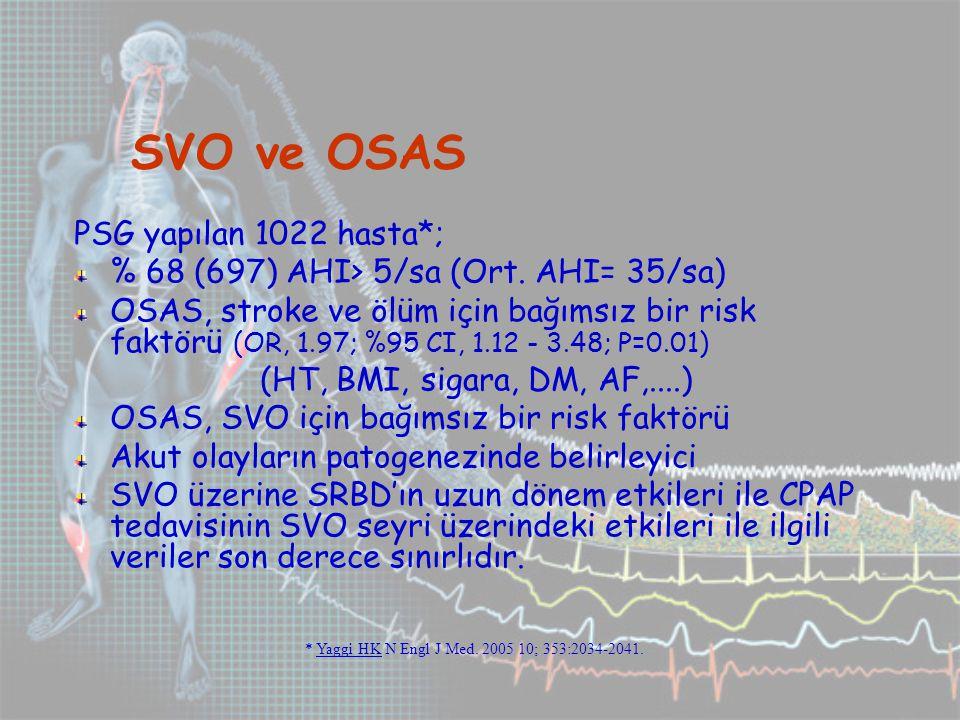 * Yaggi HK N Engl J Med. 2005 10; 353:2034-2041.