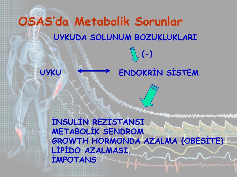 OSAS'da Metabolik Sorunlar