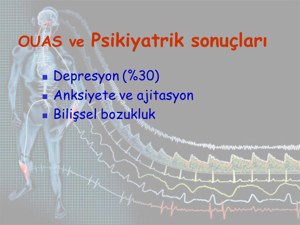 OUAS ve Psikiyatrik sonuçları
