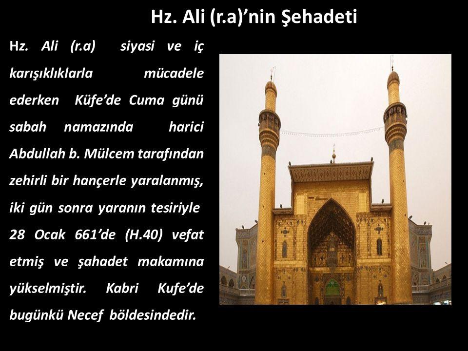 Hz. Ali (r.a)'nin Şehadeti