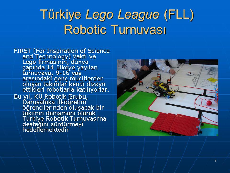 Türkiye Lego League (FLL) Robotic Turnuvası