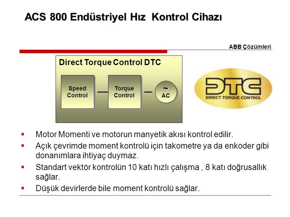 ACS 800 Endüstriyel Hız Kontrol Cihazı