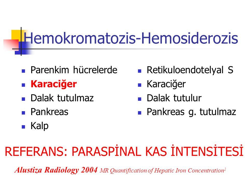 Hemokromatozis-Hemosiderozis