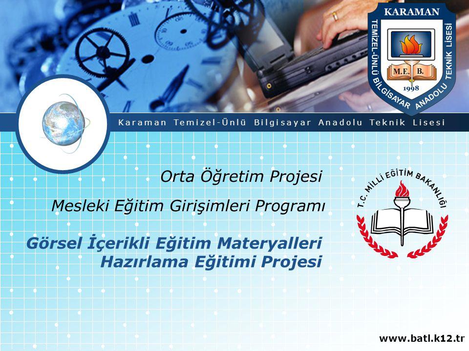 Mesleki Eğitim Girişimleri Programı