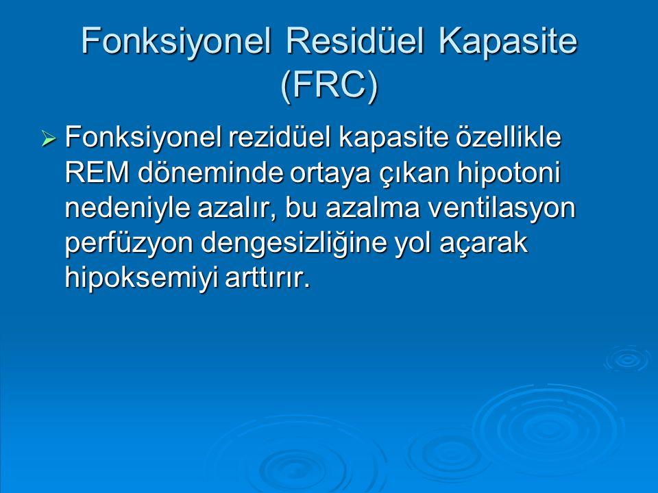Fonksiyonel Residüel Kapasite (FRC)