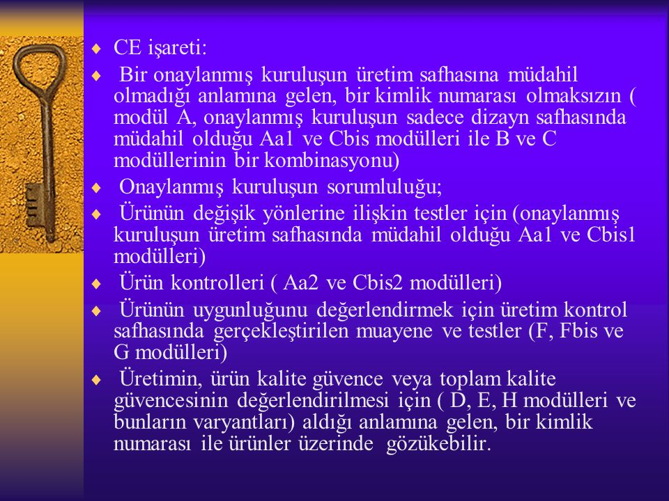 CE işareti: