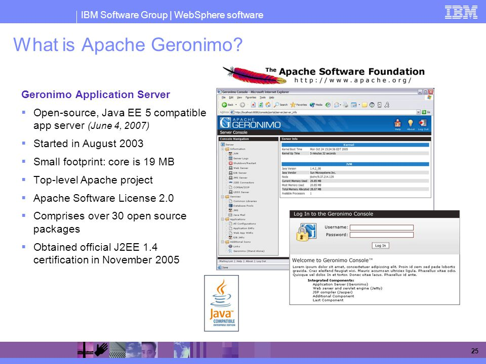 What is Apache Geronimo