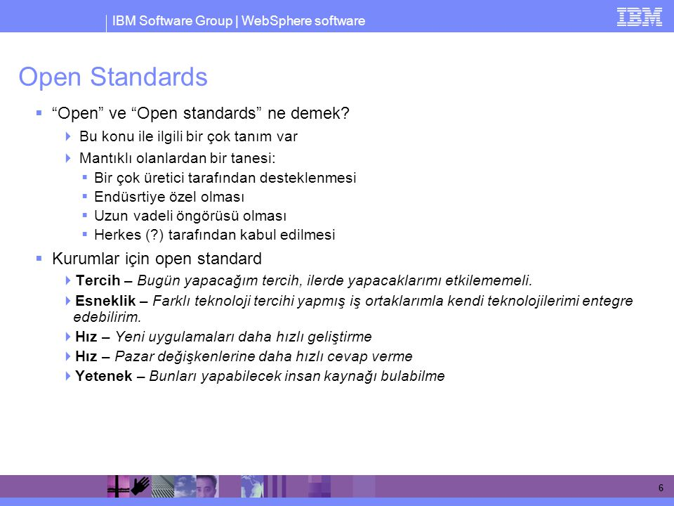 Open Standards Open ve Open standards ne demek