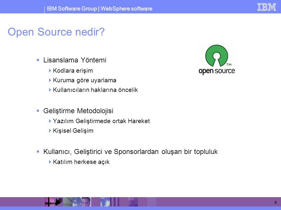 Open Source nedir Lisanslama Yöntemi Geliştirme Metodolojisi