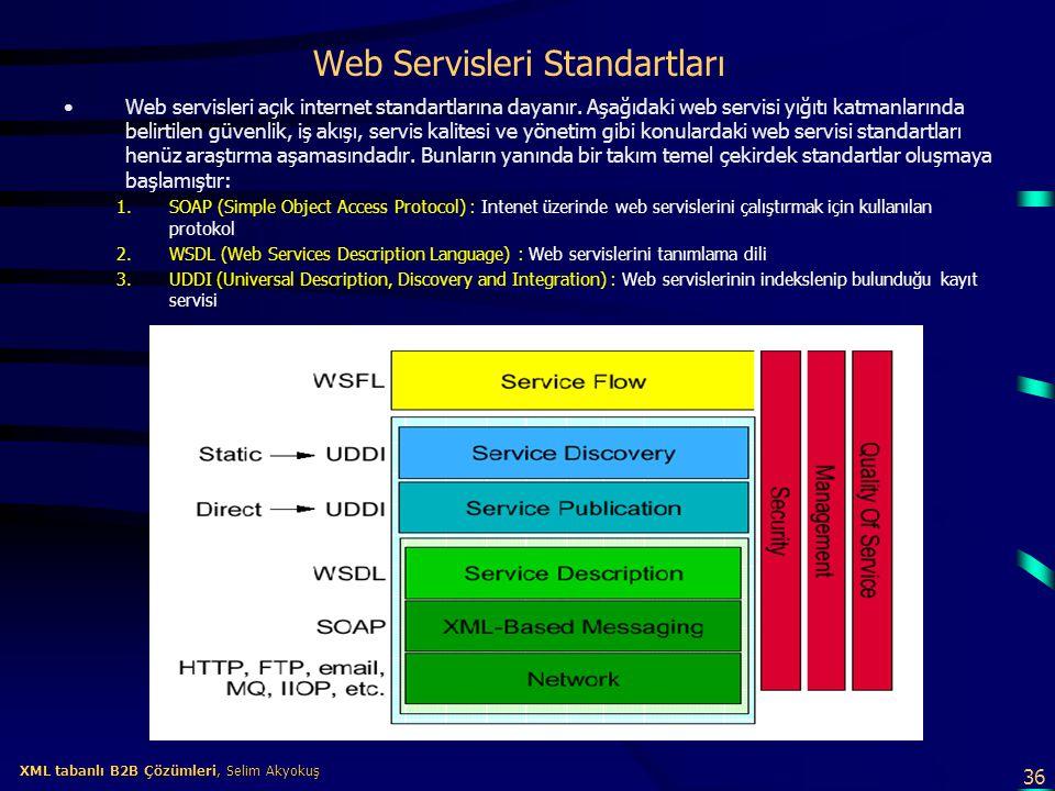 Web Servisleri Standartları