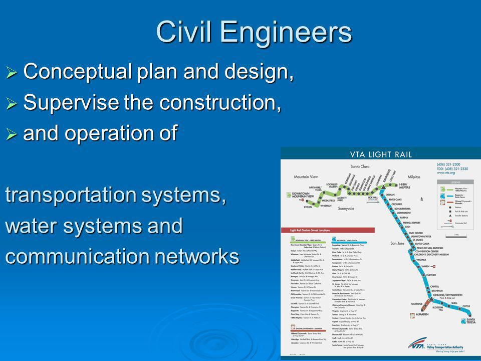 Civil Engineers Conceptual plan and design,