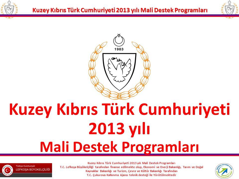 Kuzey Kıbrıs Türk Cumhuriyeti Mali Destek Programları