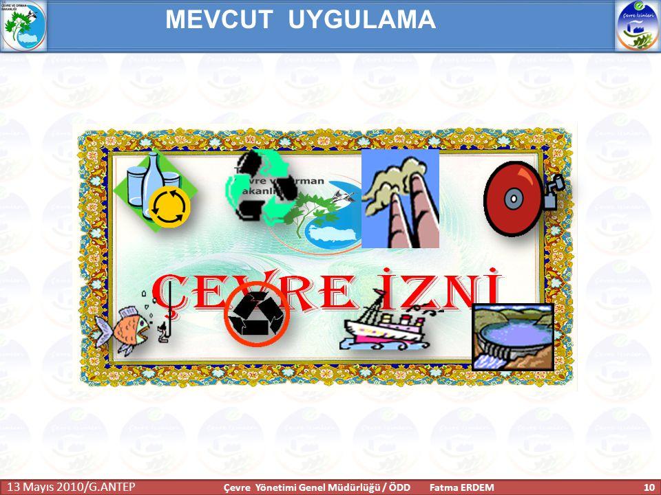 Çevre Yönetimi Genel Müdürlüğü / ÖDD Fatma ERDEM