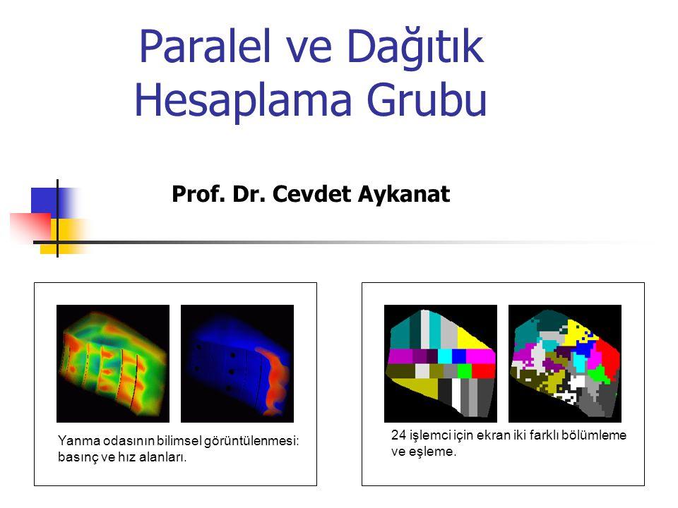 Paralel ve Dağıtık Hesaplama Grubu Prof. Dr. Cevdet Aykanat