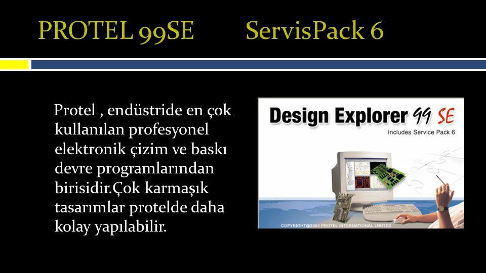 PROTEL 99SE ServisPack 6