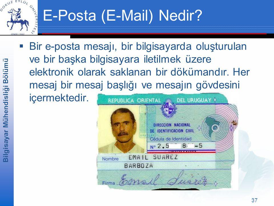 E-Posta (E-Mail) Nedir