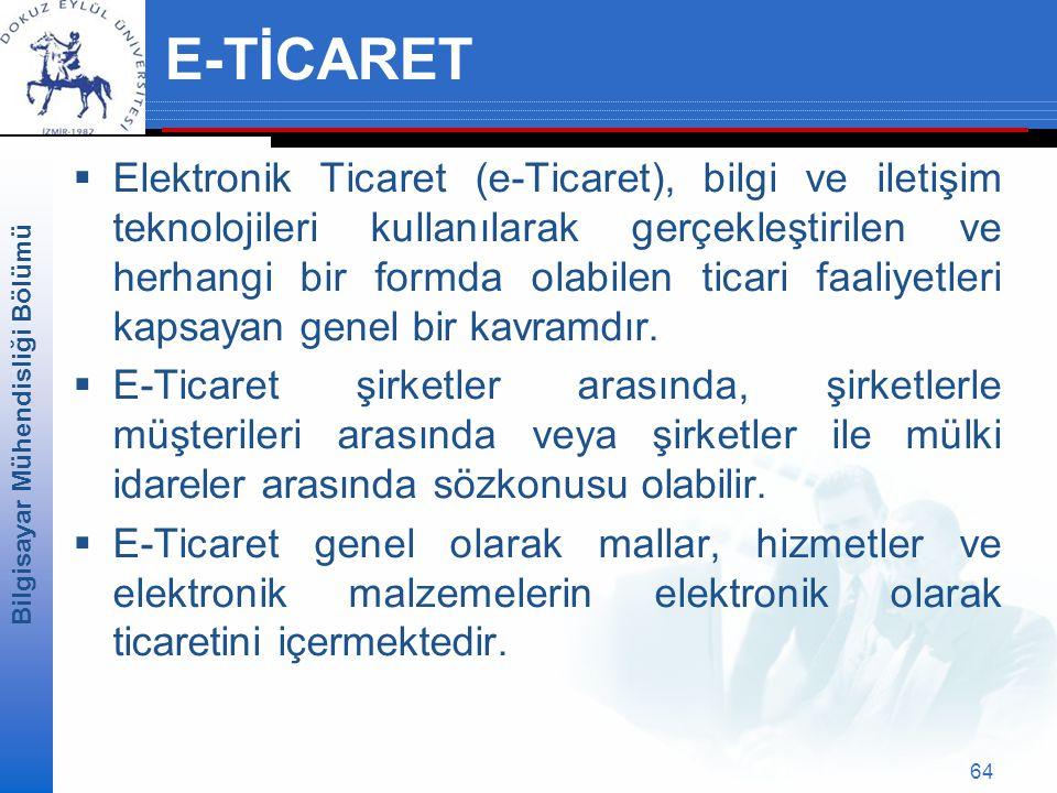 E-TİCARET