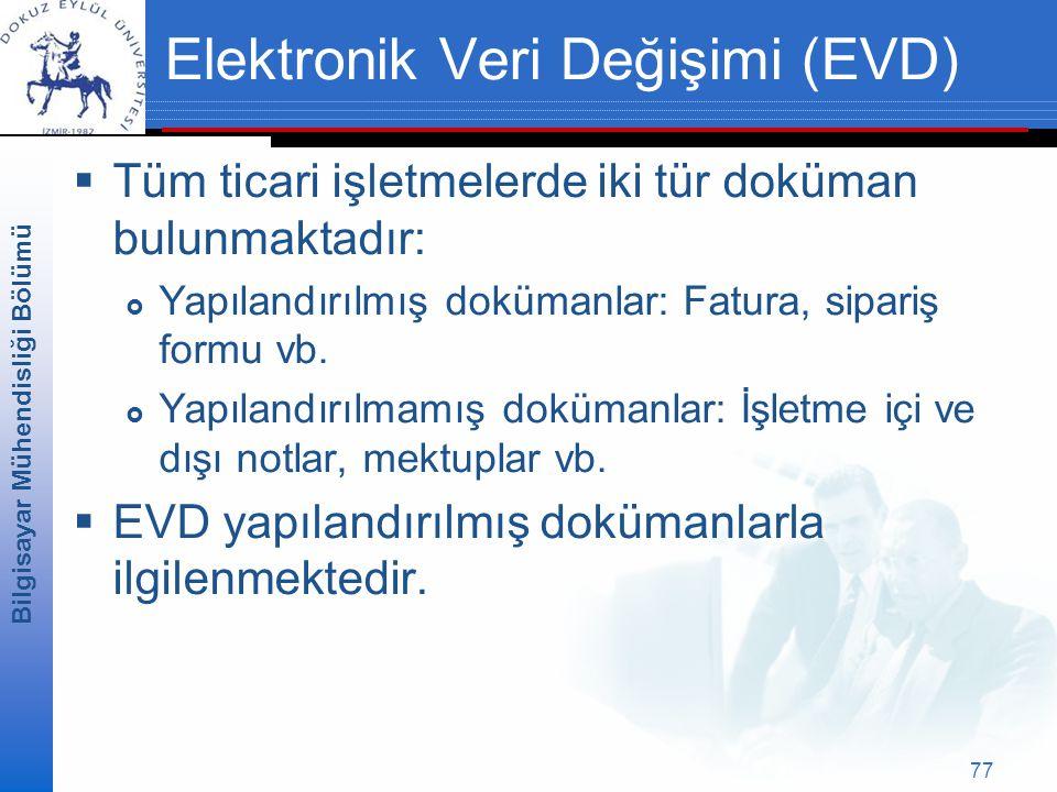 Elektronik Veri Değişimi (EVD)