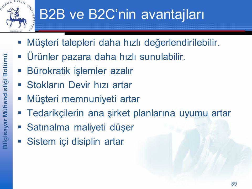 B2B ve B2C'nin avantajları