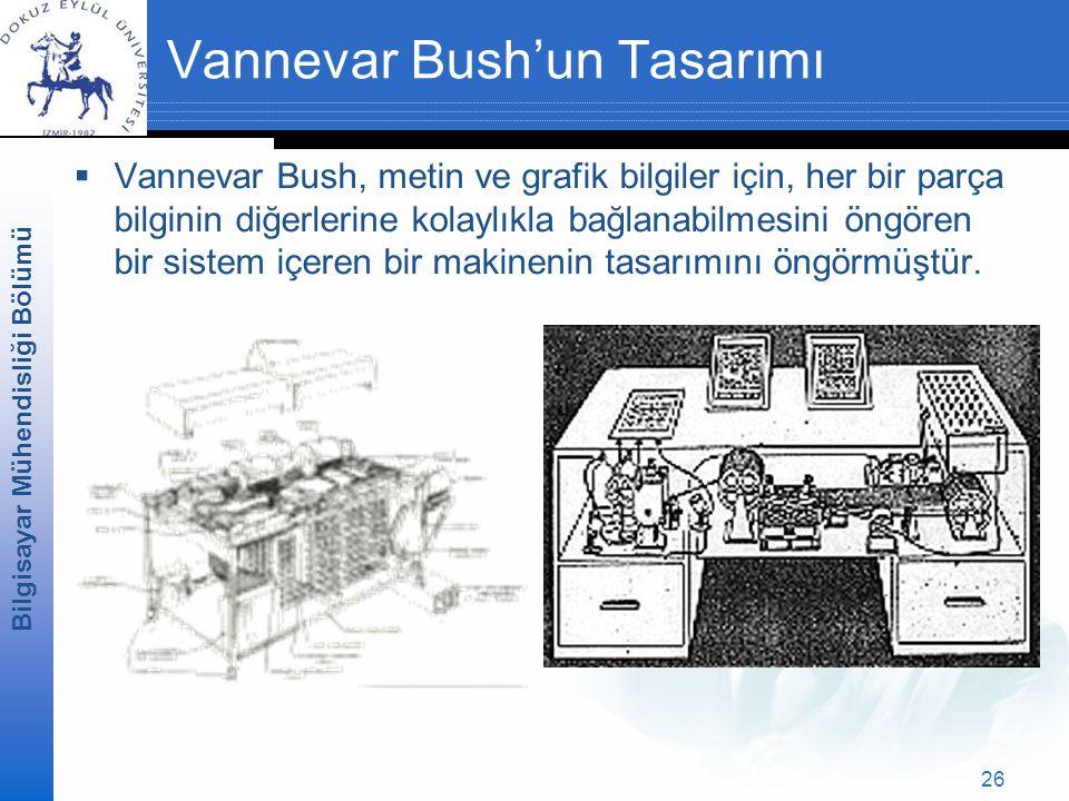 Vannevar Bush'un Tasarımı
