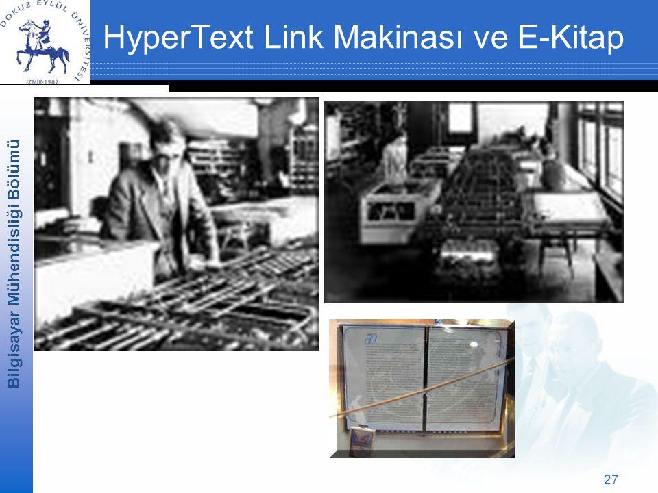 HyperText Link Makinası ve E-Kitap