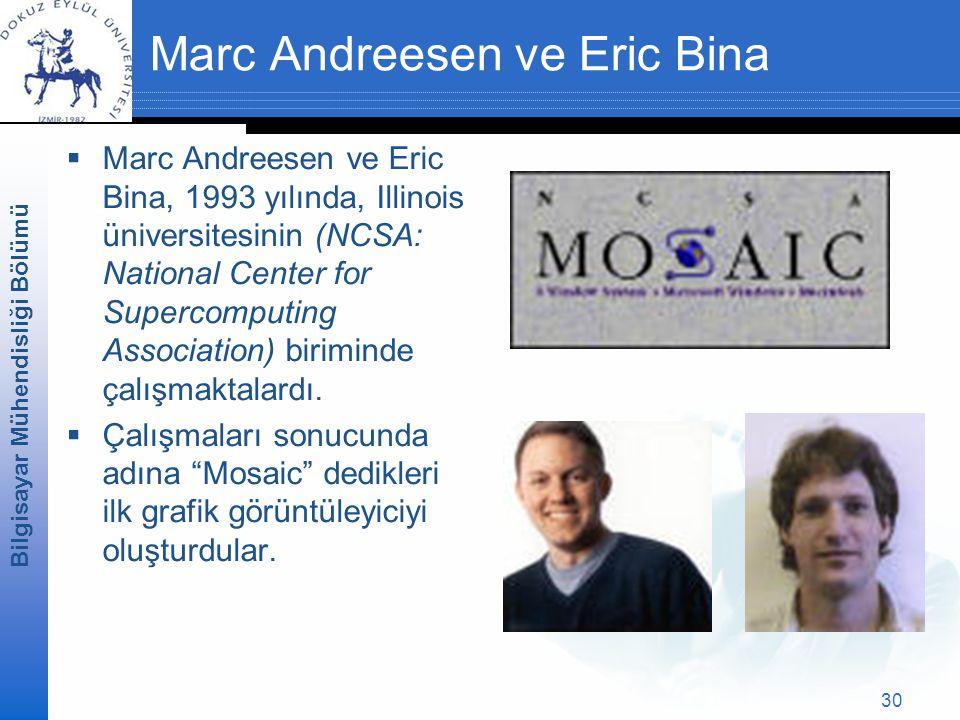 Marc Andreesen ve Eric Bina