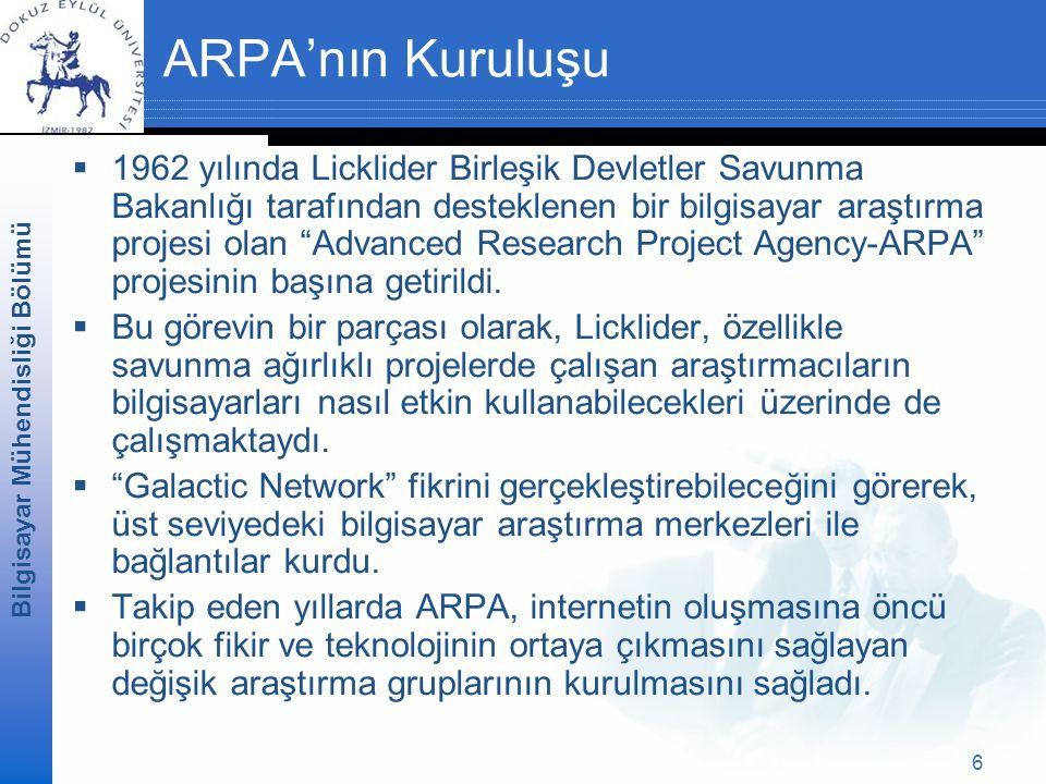 ARPA'nın Kuruluşu