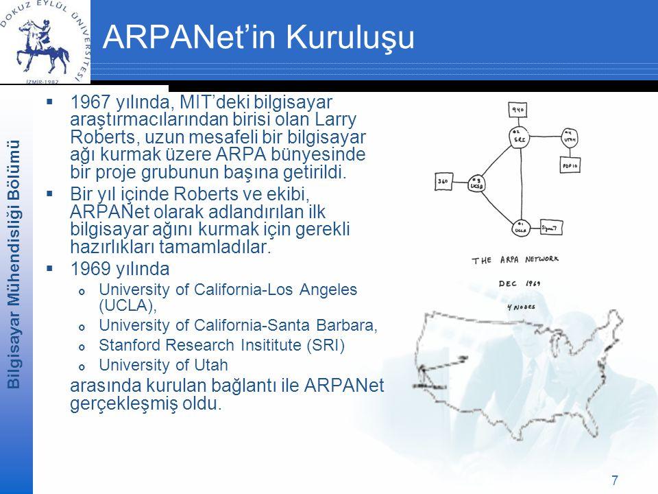 ARPANet'in Kuruluşu