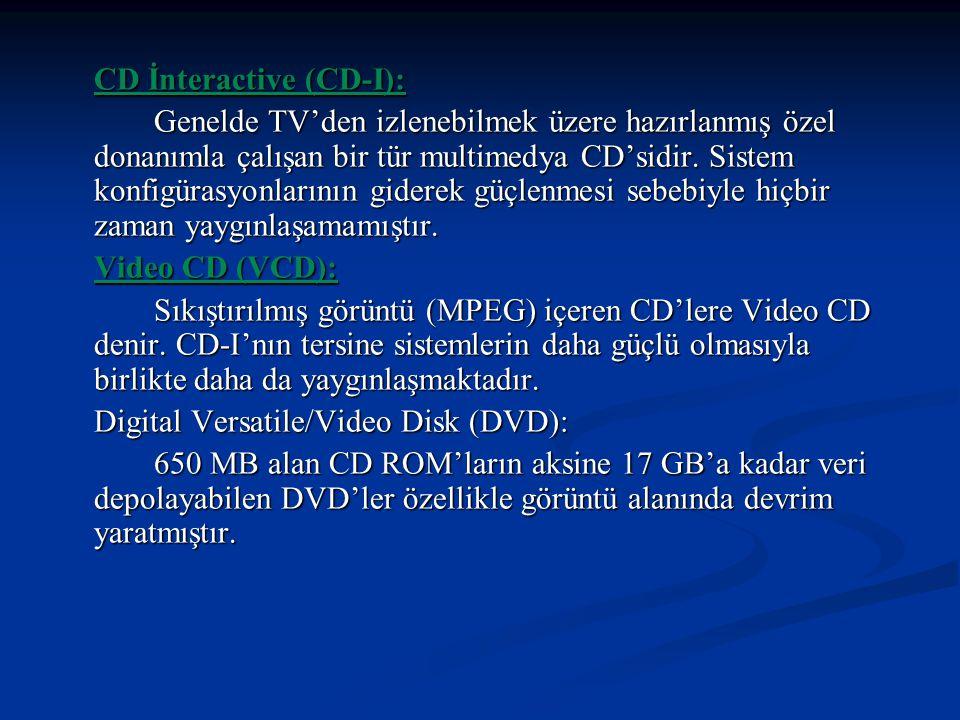 CD İnteractive (CD-I):