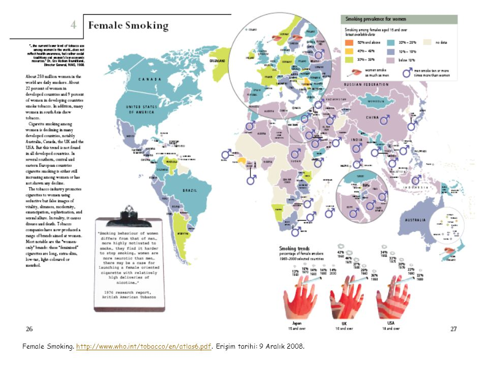 Female Smoking. http://www. who. int/tobacco/en/atlas6. pdf