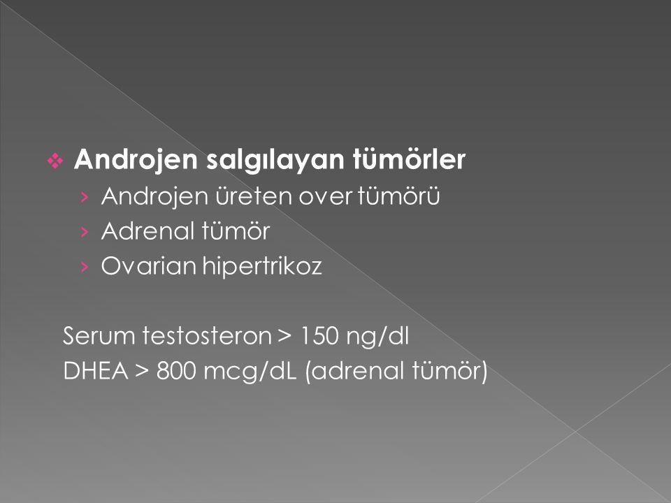 Androjen salgılayan tümörler