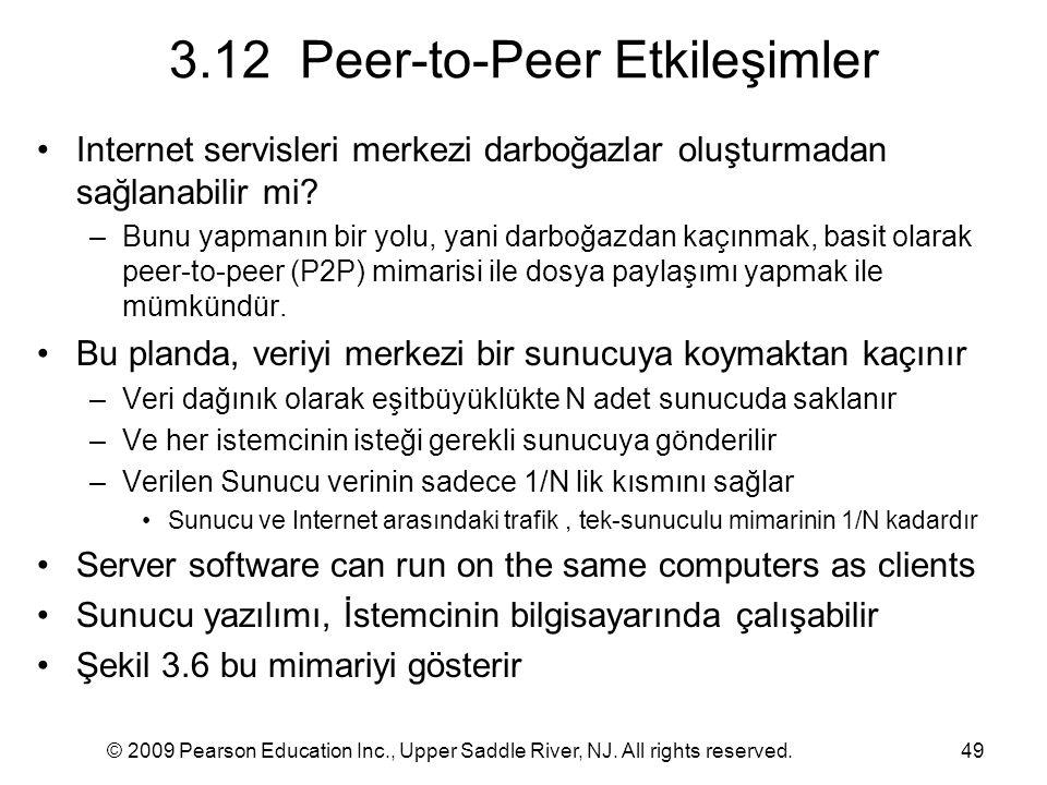 3.12 Peer-to-Peer Etkileşimler
