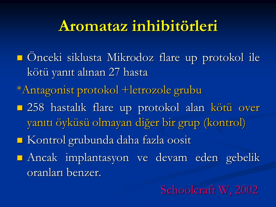 Aromataz inhibitörleri