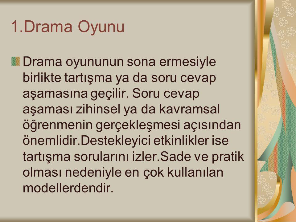 1.Drama Oyunu